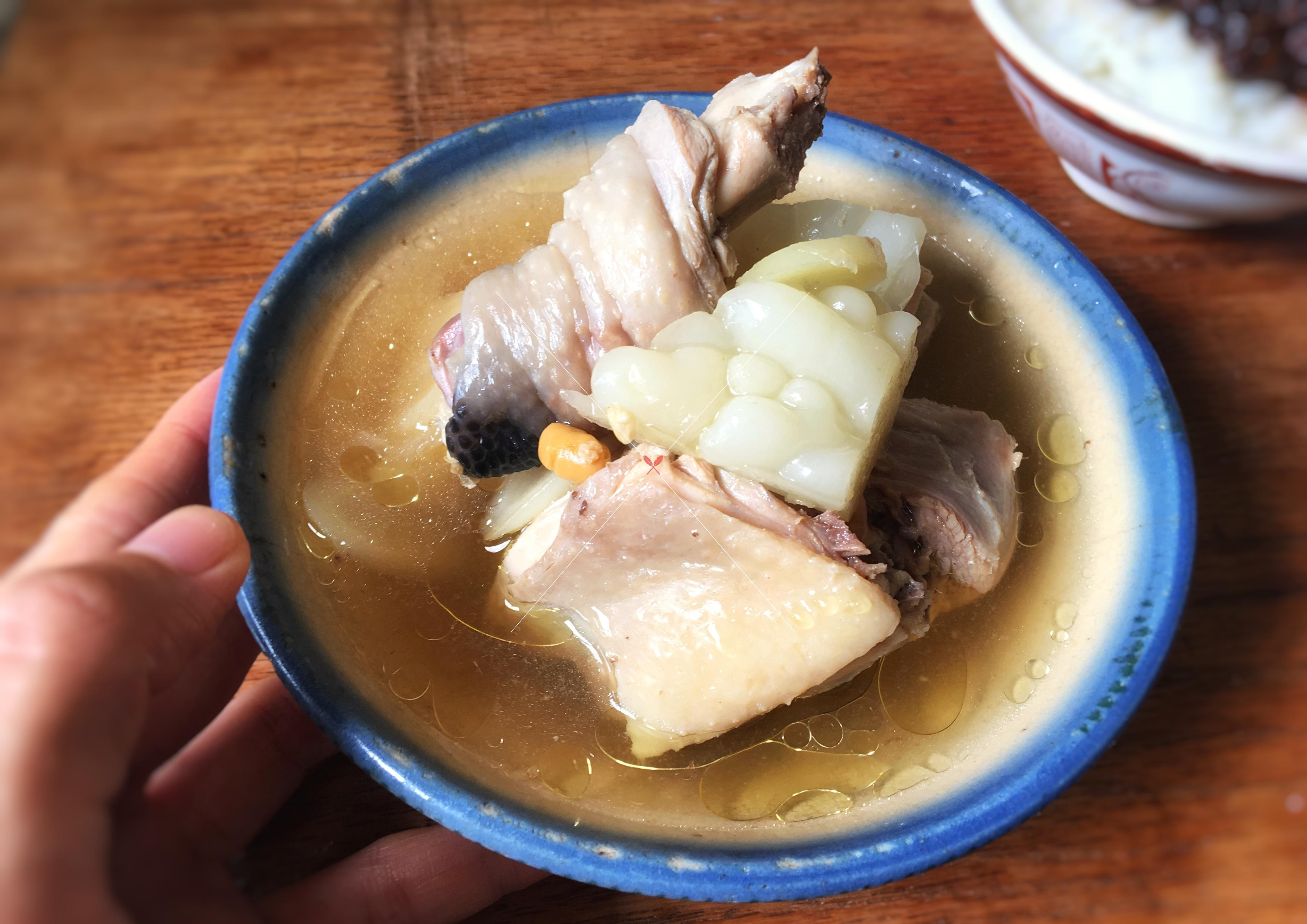 bitter-gourd-chicken-with-pineapple-soup